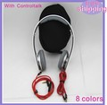 10pcs/lot Free shipping  Mini HD headphone with controltalk and carrying case 8 colors hot selling good quality