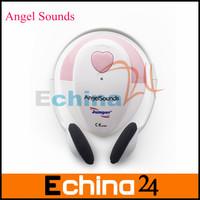 Angelsounds Ultrasonic Doppler Baby's Heart Instrument Fetal Heart Rate Doppler Free Shipping