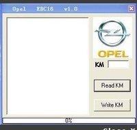 OPEL KM TOOL Mileage Adjust Tool opel km tool FreeShipping  2pcs/lot