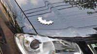 free shipping!3D Metal Batman  Car sticker decal Car rear eadge sticker Emblem funny Custom Sticker on car