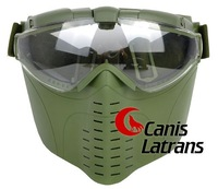 tactical full face airsoft mask / goggles   CL9-0010