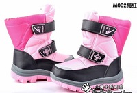 free shipping ! Girls in the winter snow boots  and  velvet  boots  M002