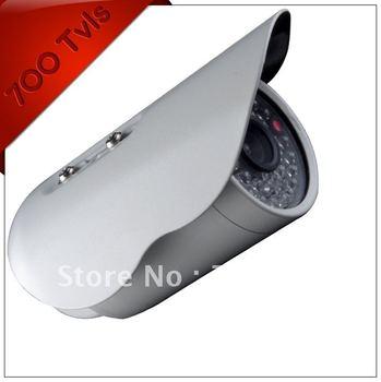 Free Shipping 700tvl  30m low illumination Infared CCTV Camera