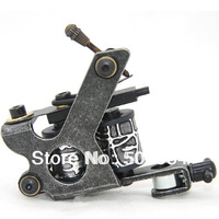 New Arrival Classical Iron Tattoo Machine Gun for shader Liner 8 Wrap Coils free shipping