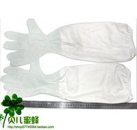Free shipping Beekeeping tools the beekeeper prevent tools goatskin gloves beekeeping cape gloves apiculture gloves  bee tools
