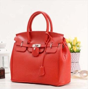 2015 hot selling Brand simple celebrity pu leathe handbag design bag  A648