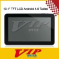 "Ultra-thin 10.1"" TFT LCD Android 4.0 Tablet w/ Camera / WiFi /3G / HDMI - Black + White,Free Shipping"