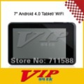 "7"" Capacitive Touch Screen Android 4.0 Tablet w/ WiFi / Camera / TF/HDMI - White + Black,Free Shipping"