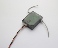 AR6200  Receiver  Remote Satellite 2.4G 6ch   As SPM9545 For AR9000 AR7000 AR6200 ZYX-S 3 Axis Gyro