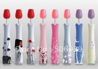 B024 rose umbrella perfume bottle umbrella folding umbrella sun protection umbrella 330g