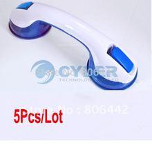 Wholesale 5Pcs/Lot Suction Cup Safety Tub Bath Bathroom Shower Tub Grip Portable Grab Bar Handle 1514(China (Mainland))