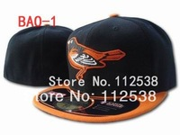 Wholesale Baltimore Orioles fitted hats baseball caps 12pcs/lot  free shipping