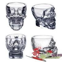 Free shipping  ,new pirate glass cup ,  death's-head glass cup,Creative Home Novelty Product .