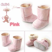4Pairs/lot Baby Shoes/Infant Shoes/children shoes/For 6M~24M Winter Warmer Baby Snow Boots /kids shoes+Free shipping