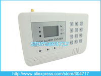 EMS Free Shiiping, Wireless GSM Alarm with 2 Output Relay and LCD Display for Home Security, Industrial Remote Control A110A