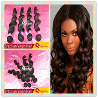 NEW Grade 6A unprocessed brazilian virgin hair loose wave 1pcs lot queen hair products free shedding and tangle brazilian weave