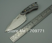 BOKER 558 STONE WASH camping knife 440C steel outdoor knife 58HRC hardness hunting knife survival knife FREE SHIPPING