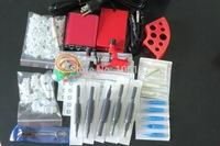Sale Pro Tattoo Kit  Dragonfly Rotary Tattoo Machine Gun  Power Supply Foot Pedal Needles Grip Tip Tattoo Starter Kit Supply