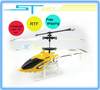 Supernova Sales 20cm Mini Remote Radio Control RTF ready to fly 2CH metal LED Flashlight RC Helicopter ST808 Free Shipping