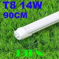 T8 900mm led tube light rotating 14W 90cm G13 2835 SMD fluorecent tubo Kitchen bedroom hotel white AC 100V-240V by DHL 10pcs/lot