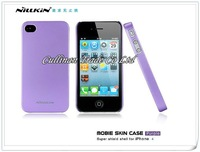 MOQ:10pcs/Lot HK Free Shipping Nillkin Shield Case For Iphone4G 4S Wth Screen Film +Retail Box  A0120