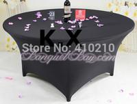 10pcs Black Spandex Table Cloth \ Lycra Table Cover