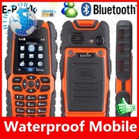 2013  S8 Sonim car Phone; WaterProof,Anti Shock,long standby Quadband,work everywhere fashion cell phone