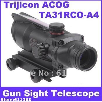 Trijicon ACOG TA31RCO-A4 NSN1240-01-525-1 Rifle Scope Aiming Rule Sight Telescope with Gun Mount& Cloth