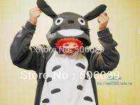 Cartoon sleepwear  totoro 100% cotton lounge lovers sleepwear pajamas