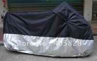 Big Size M-XXXXL Motorcycle Covering Waterproof Dustproof Scooter Cover UV resistant Heavy Racing Bike Cover Free Shipping