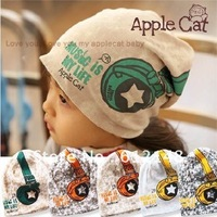 Wholesale Free shipping 20pcs/lot Cute design Floral headset caps baby hat boys baby cap children's hats & Caps Infant beanies