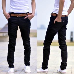 male Повседневный trousers men's cloТонкийg Повседневный Брюки Белый skinny Брюки ...