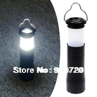 Mail Free + 1PC LY02 3W 200LM LED Lantern Light LED Flashlight Adjustable Torch Waterproof For Tent Camping Hunting Climbing
