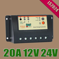 20A 12V 24V LS2024 20amps EP LandStar Solar cells Panel Battery Charge Controller Regulators