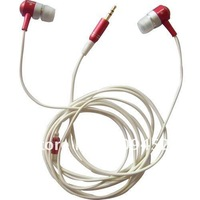 new 2.5mm Stereo Metal InEar Headphone Earphone Headset Earbuds For MP3 MP4 free shipping