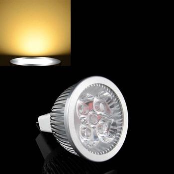 Warm White MR16 4W 4 LED 3300K  Down Spot Light Bulb 12V # 2936