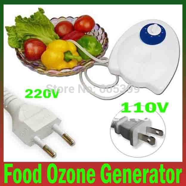 400mg/h 110v /220v comida ozônio gerador água ar esterilizador ozônio pu