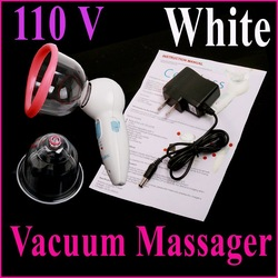 110V US Plug Professional Rechargeable Handheld Vacuum Beauty Body Massager Skin Health Care instrument ,Free Shipping(China (Mainland))