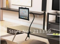 New!!!Hot!!!  Free Shipping for Strong & Flexible Desk Table Holder Mount Stand Gooseneck Kit for iPad 2 3rd Gen