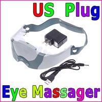 US Plug Eye Care Health Electric Alleviate Fatigue Massager Skin Health Care, Wholesale