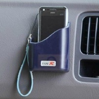 Free  Shipping!!Convenient Car Vehicle Card Phone Holder Strong Adhesive Box 3.5*7*9cm Case