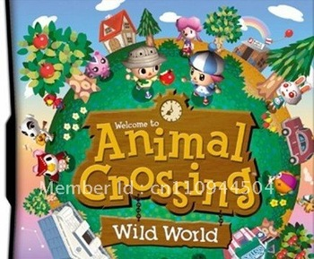 Game card:Animal Crossing Wild World for 3DS,DSi XL,DSi,DS Lite,NDS version game  20pcs/lot  free shiping