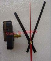 FREE SHIPPING 5PCS/lot Quartz Clock Movement Kit Spindle Mechanism shaft 20mm with hands Wholesale BJ005