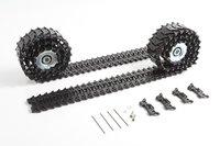 Mato Metal upgraded Tracks, sprockets wheels parts set for Heng Long 3839-1 1/16 1:16 RC M41A3 WALKER BULLDOG tank