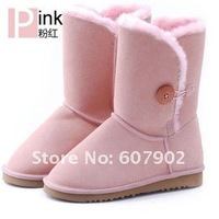 Hot snow boots woman shoes winter boots # 984