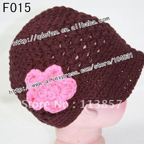 Free shipping (50/lot) 100% cotton girls crochet spring hats,stylish girls straw sun hat,2012 fashion hats(China (Mainland))