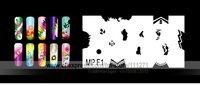 1 set - Nail Airbrush Stencils (MPF) - Nail Stencils / Templates - for Nail Art / Beauty - 32pcs stencils/set - Free Shipping