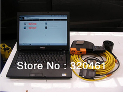 2013 free shipping For BMW ICOM ABC ISTA ISIS ISSS plus lenove E49L Laptop(China (Mainland))