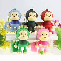 Monkey Model 2.0 USB Flash Memory Stick Pen Drive  2GB 4GB 8GB 16GB 32GB LU022