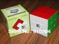 Free Shipping of High Quality Mixed Dayan GuHong 3x3 Cube 6 Color Stickerless